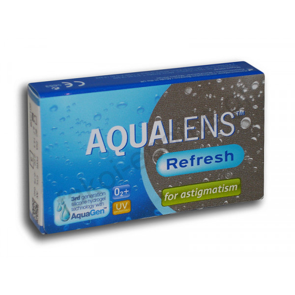 AMVIS HELLAS AQUALENS REFRESH ASTIGMATISM 3 PACK AMVIS HELLAS